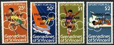 Grenadines Of St. Vincent 1980 SG#175-8 Hurricane Relief MH Set #D91591