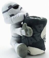 NWT $50-Star Wars Episode VII White Storm Trooper Plush Hugger & Throw Blanket