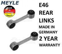 2 x BMW 3 series E46 1998-2005 MEYLE Rear Suspension Drop Link Rods 3160604610