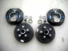 "Add Brakes Kit Trailer Dexter 5x5 3500# Drum & Genuine Dexter 10"" Backing Plates"