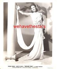 Vintage Loretta Young GORGEOUS 40s IRENE FASHION DESIGN Publicity Portrait