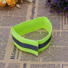 Flashing Safety Reflective Belt Strap Arm Band Armband for Cycling Running 2018 Green