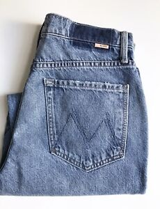Mother Superior Women's Jeans, Size 27, Bounce Hover Dart Cuffed **Altered**
