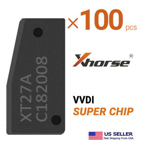 100x Xhorse Super Transponder Chip XT27A for VVDI2/ VVDI KEY TOOL MAX/ VVDI MINI