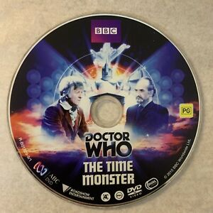 DOCTOR WHO - The Time Monster *DVD Only As Pictured* Jon Pertwee