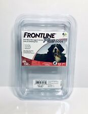 FRONTLINE Plus Flea and Tick Treatment for Large Dogs (89-132 lbs)-6 Treatments