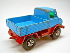 Matchbox Superfast Nr. 49A Unimog blau & rot