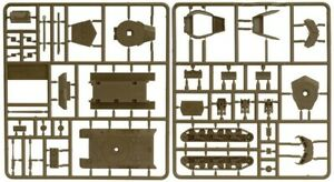 Flames of War WW2 US M10 and M36 Tank Destroyer Sprue 15mm / 1:100 - New
