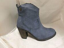 Actualizar tobillo botas de vaquero en azul marino RRP £ 59.95 UK3 EU36 JS23 23