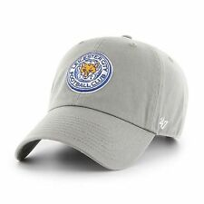 47 BRAND NEW Men's EPL Leicester City FC Clean Up Gray BNWT