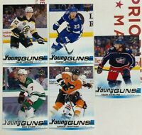 Upper Deck Hockey 2019-20 Young Guns 5 Card Rookie Lot