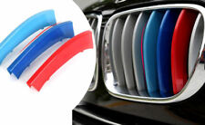 Blue M-Color Front Grille Cover Insert Trim Decal 3pcs for BMW X5 E70 2007-2013