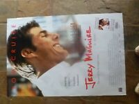 Original  JERRY MAGUIRE  1  SHEET MOVIE POSTER