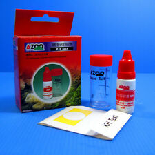 AZOO KH Carbonate Hardness TEST KIT -aquarium fish tank  freshwater saltwater