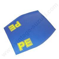 Suzuki PE PE175 Blue Seat Cover (1982-84)