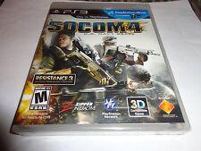 SOCOM 4: U.S. Navy SEALs  (Sony Playstation 3, 2011) NEW PS3
