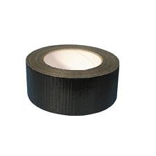 Negro gaffa Cinta Tape 48mm X 50mtr Roll fuerte Hd Impermeable conducto Paño Cinta 1 Rollo