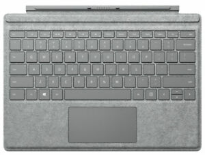 Microsoft Surface Pro Alcantara Signature Type Cover for Pro 7, 6, 5, 4, 3 GRAY