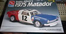 AMT #12 BOBBY ALLISON'S 1975 HODGDON MATADOR MODEL CAR MOUNTAIN 1/25 FS
