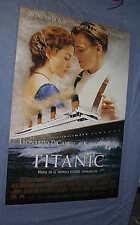 Original 2 sided TITANIC Leonardo DiCaprio Spanish