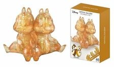 Hanayama Japan Crystal Gallery 3D Puzzle Disney Chip and Dale 46 piece