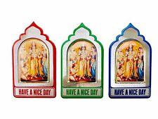 Ram Darbar Sticker Metal Adhesive Sticker Hindu God Mandir Sticker – 6cm x 4cm
