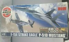 Airfix 1/72 F-15E STRIKE EAGLE/P51D MUSTANG A50041