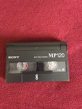 New Not Sealed Mp 120 8mm Camcorder Video Cassette Tape