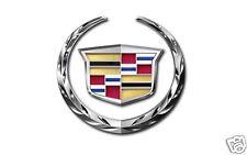 CADILLAC Crest & Wreath Emblem - Logo, Flat Flexible Refrigerator Magnet, 40 MIL