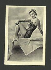 Marilyn Monroe RARE 1950s Italian Editrice Vecchi RKO Film Star Card #193