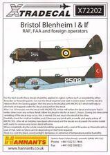 XTRADECAL 1/72 Bristol Blenheim I & SE PARTE 1 #72202