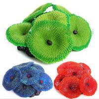 P&T Aquarium Artificial Fake soft Coral Plant Fish Tank Ornament Colors NicB sa