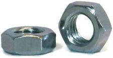 "Hex Jam Nut Zinc Plated Grade A Steel Hex Nuts - 3/8""-24 UNF - Qty-1000"