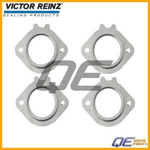 For: Mercedes C240 C280 Set of 4 Exhaust Manifold Gasket Victor Reinz 1121420180