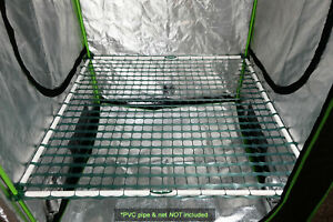 Scrog-Pro™ DIY Hardware Kit for Grow Tents (support poles & net not included)
