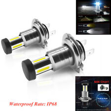 Waterproof Car Headlight White Fog Light  DRL Xenon Lamp Set LED Headlight Bulb