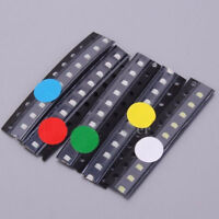 50pcs SMD 0805 LED Diodes Assortment Kits 5Values Red Blue Green Yellow White
