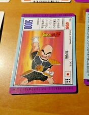 DRAGON BALL Z DBZ PP AMADA PART CARDDASS CARD CARTE 498 MADE IN JAPAN **
