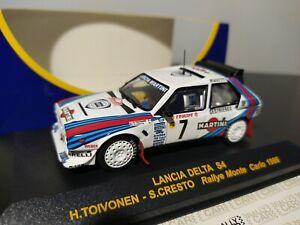 1/43 IXO RCC Lancia Delta S4 Toivonen Rally Monte-Carlo 1986 Martini Racing WRC