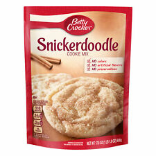 Betty Crocker Snickerdoodle Cookie Mix, 17.9 oz Box ( Pack of 3 )