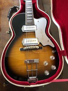 Kay-Limited Collector Edition-Barney Kessel K1700V Reissue Pro Guitar-Sunburst
