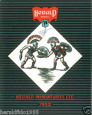 Herald Miniatures Facsimile 1958 Catalogue (Pre-Britains) + FREE Soldiers Card!
