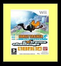 Family Trainer: Extreme Challenge Game Only Nintendo Wii Brand New