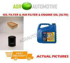 DIESEL OIL AIR FILTER KIT + FS PD 5W40 OIL FOR CITROEN DS5 2.0 181 BHP 2013-