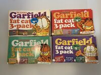 Garfield Fat Cat 3 Pack Lot Of 4 3 Story Books