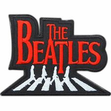 THE BEATLES Abbey Road Red Rock Band Logo Embroidered Iron-On Patches Hat #M0071