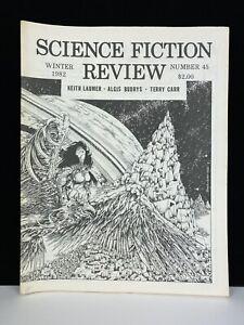 Vintage Original Science Fiction Review SFR Magazine Fanzine Zine 45 Winter 1982