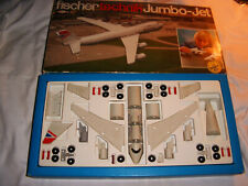 FISCHERTECHNIK Baukasten Jumbo-Jet-Boeing, OVP, TOP