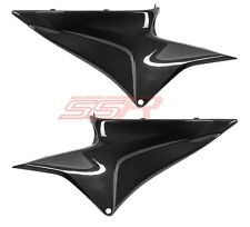 Honda 600RR (100%) Under Tank/Seat Side Panel Cover Fairings Carbon Fiber Fibre