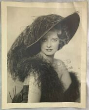Antique Photograph New York Broadway Actress Stage Girl Maurine Holmes DeBarron